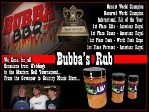 Bubba's Rub