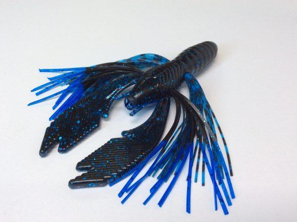 Blue/Black with Black Blue Tip / Tiger