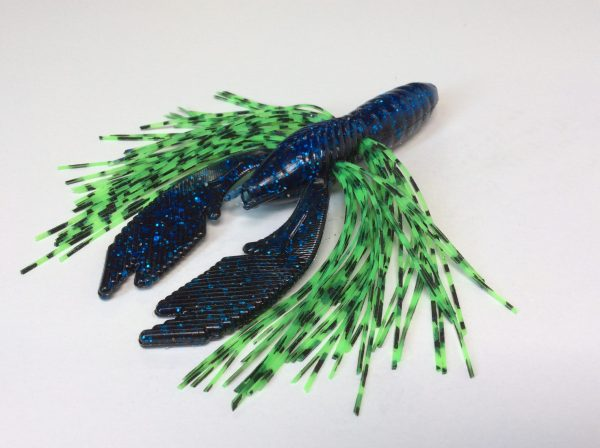 Blue/Black with Electric Green