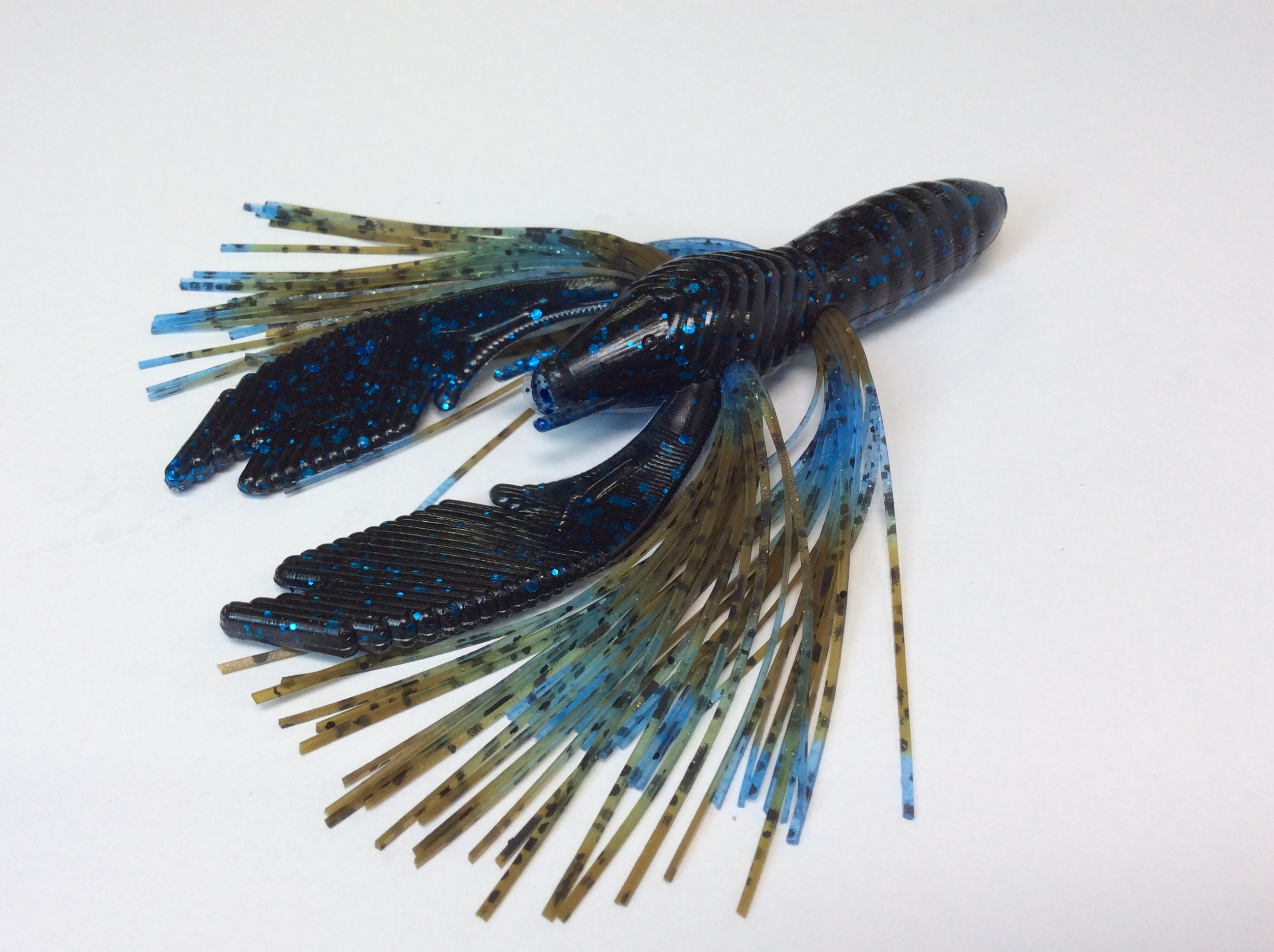 Blue/Black with Okeechobee Craw