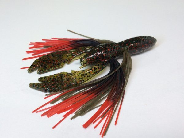 Watermelon Red with Black Red Tip