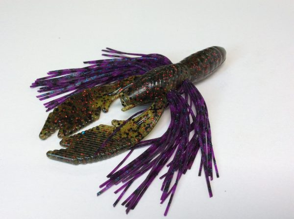 Watermelon Red with Grape Craw