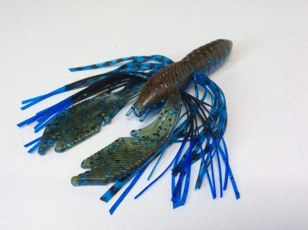 Okeechobee Craw with Blue Tip / Tiger