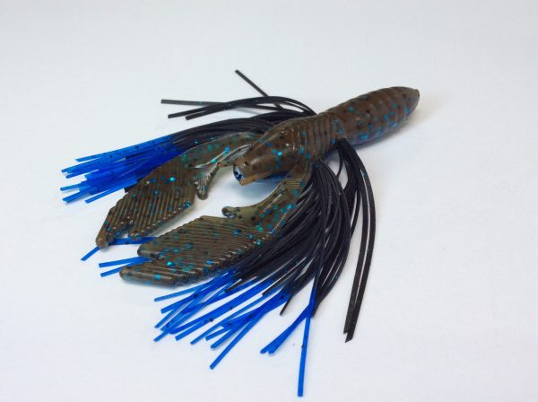 Okeechobee Craw with Black Blue Tip