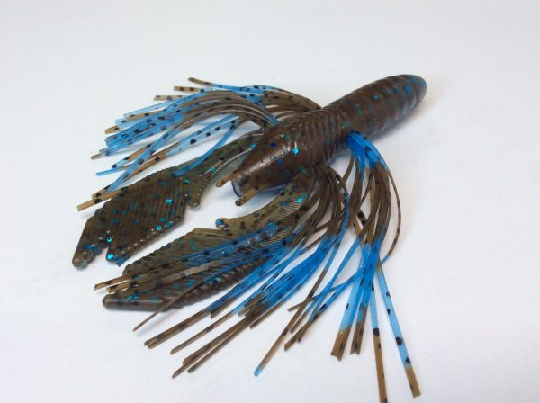 Okeechobee Craw with Light Blue Green