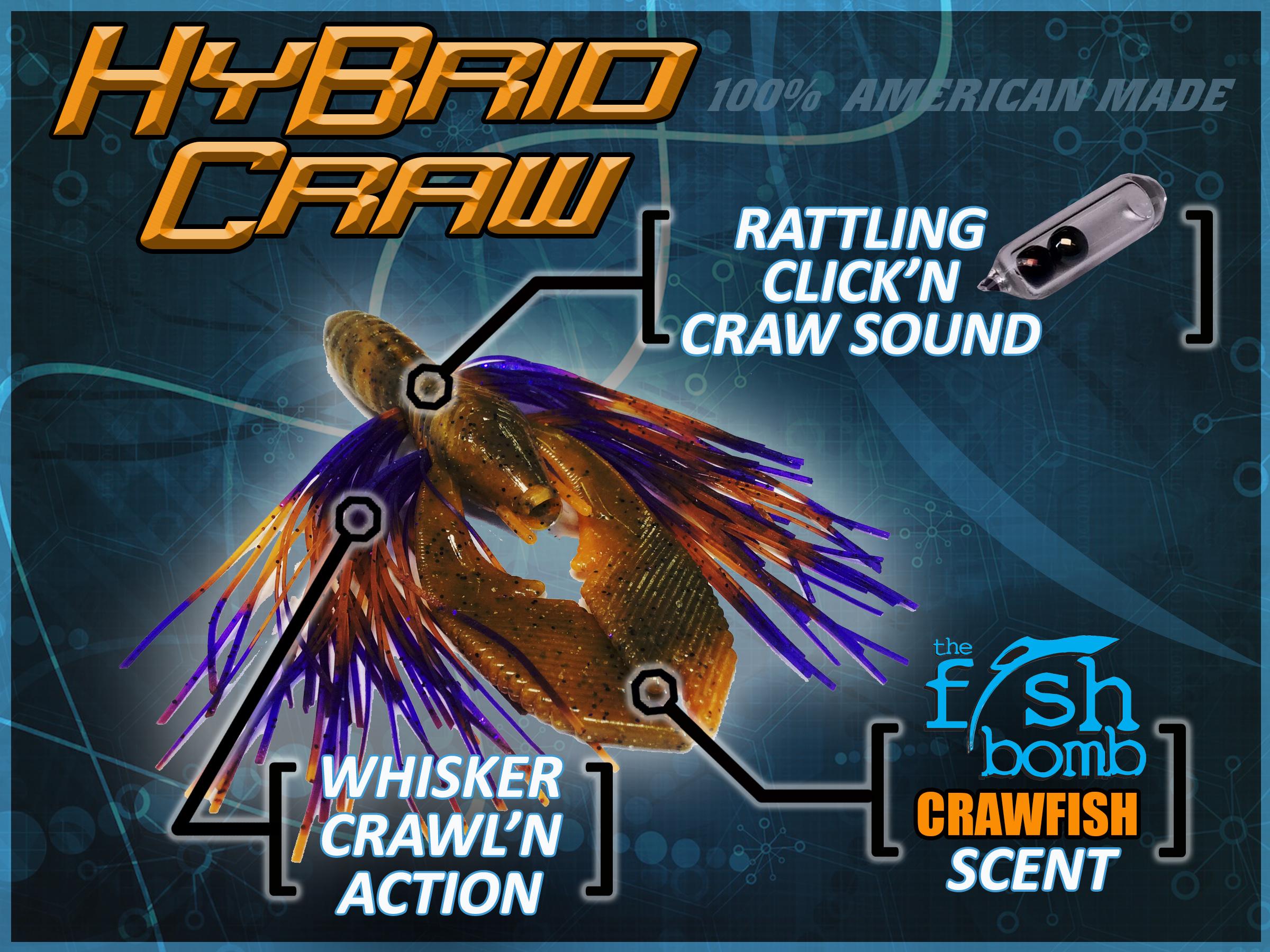 Hy-Brid Craw Rattling