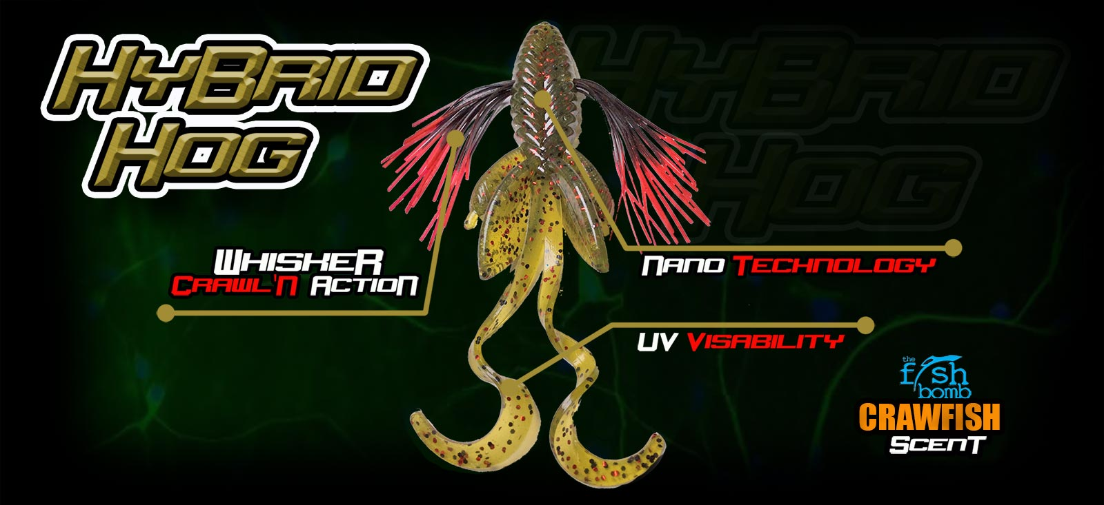 HyBridHog UV Bass Bait