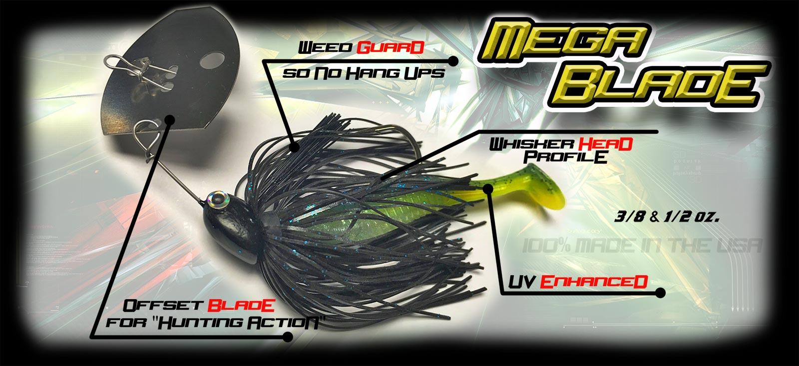 Mega Blade Bass Bait