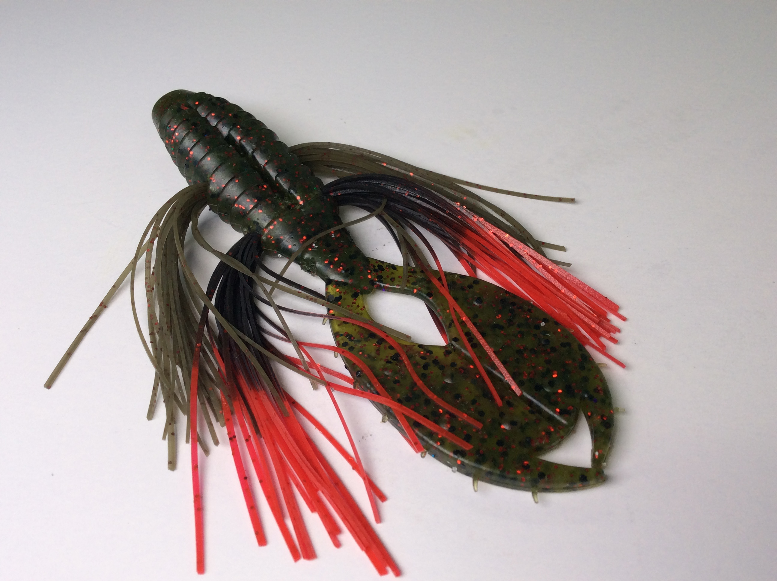 The Punch - Watermelon Red with Black Red Tip