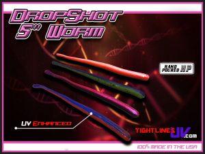 UV Dropshot Worm