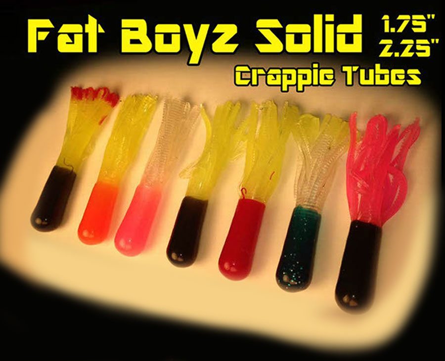 Fat Boyz Crappie Tubes