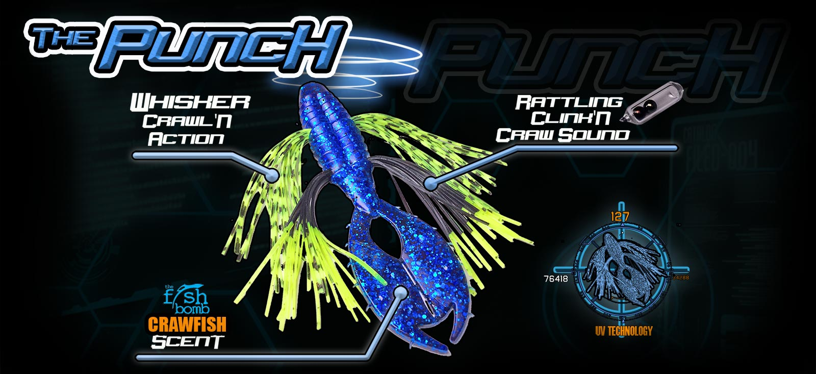 Punch UV Bass Bait