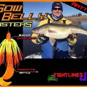 Sow Belly Twister Rattling 5″