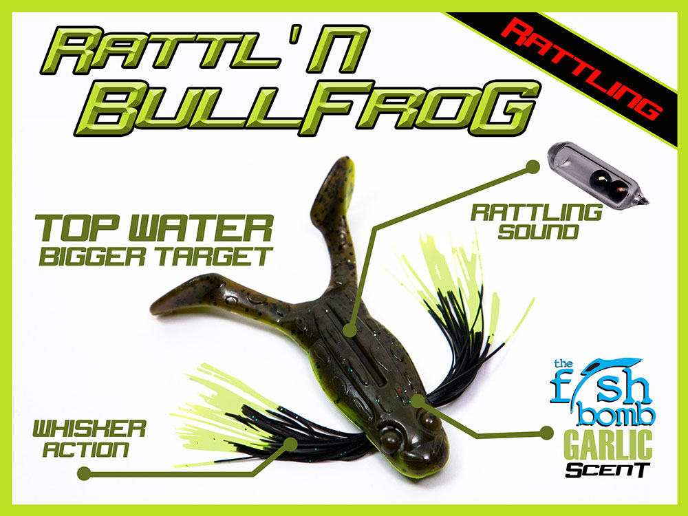 Rattl'N BullFrog Whisker Bait