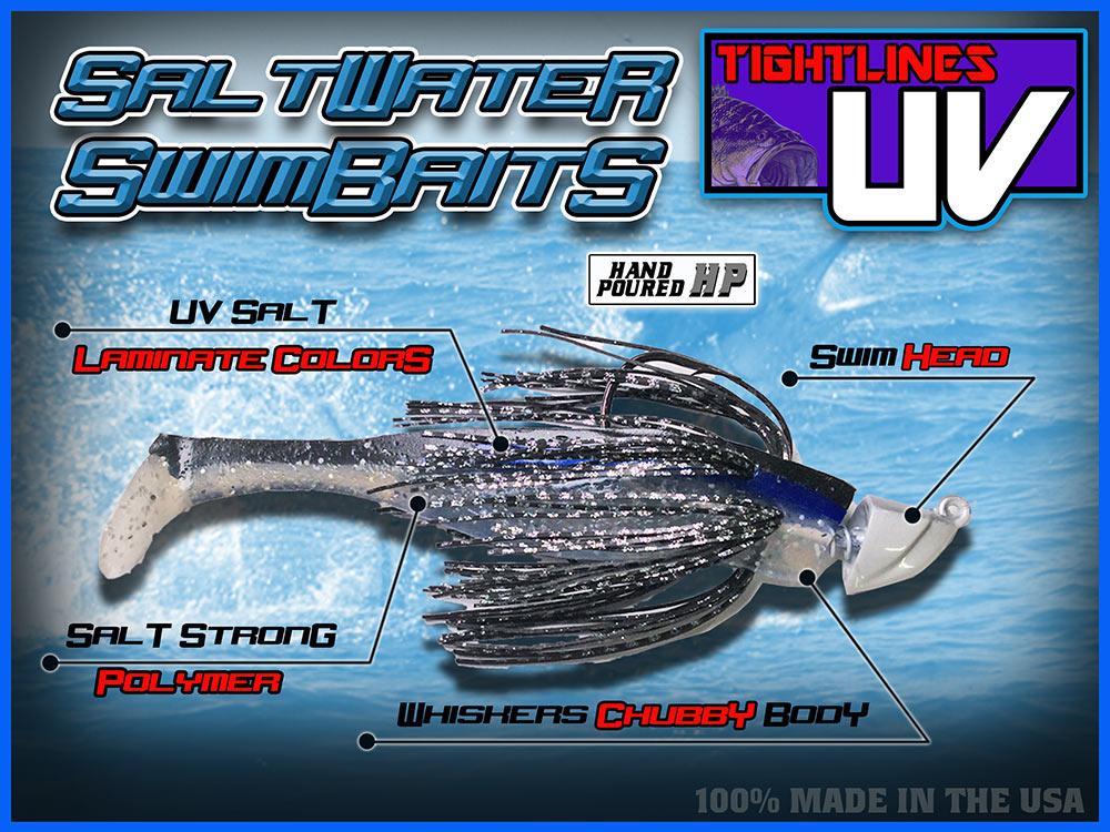 UV Saltwater Laminate Swimbaits