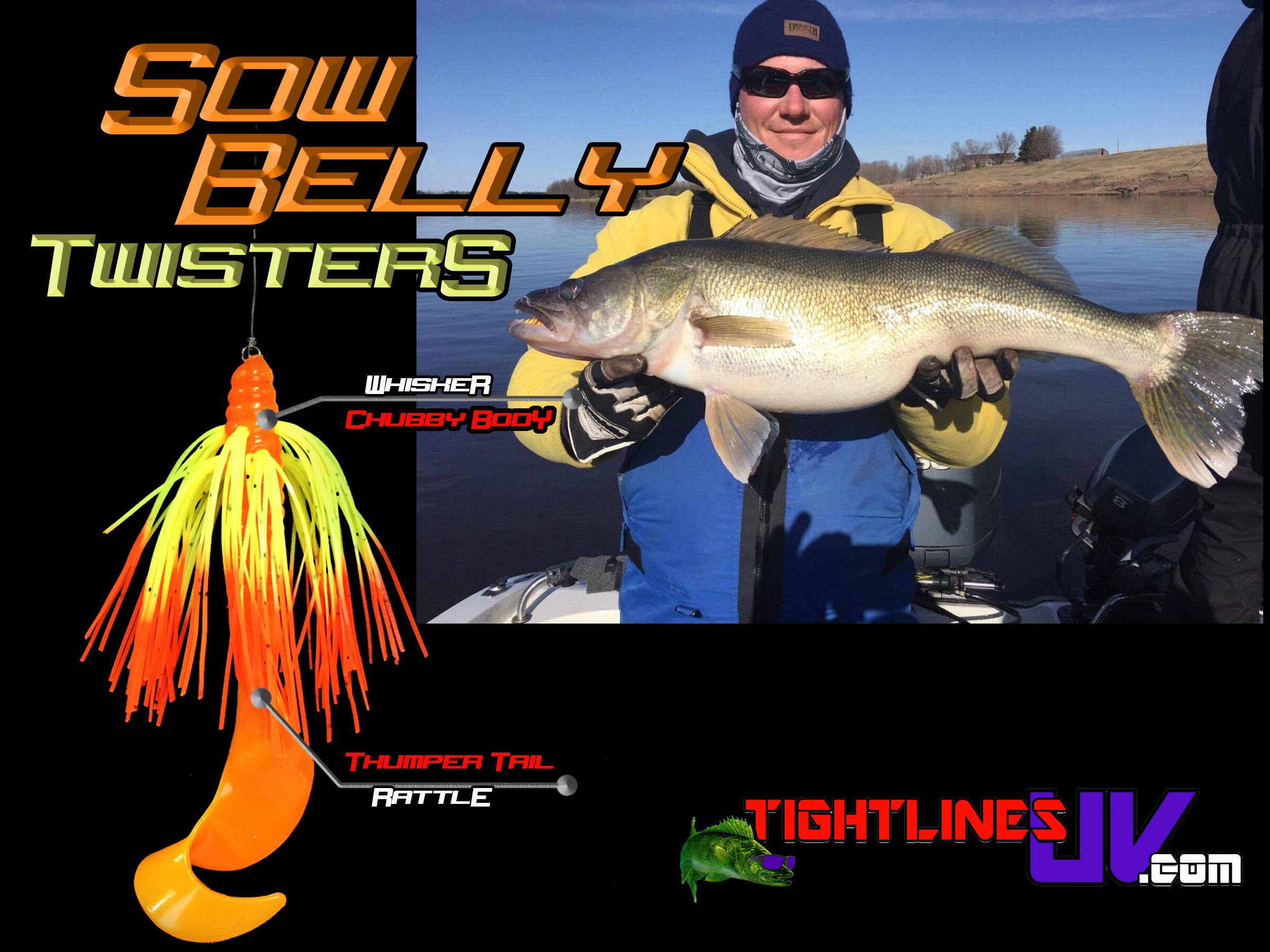 Sow Belly Twister Rattling